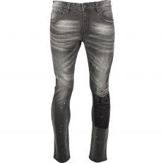 KALMAR Indicode Jeans stretch élastique confortable noir peinture