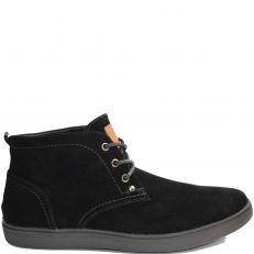 Chaussures noir effet nubuck noir modele Prime