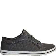 Baskets basse casual grise modele Zach
