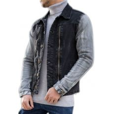 Gov Denim Veste Haut col gris collection 2016