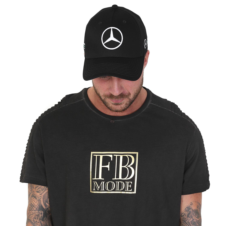 mercedes amg f1 team puma casquette noir baseball. Black Bedroom Furniture Sets. Home Design Ideas