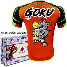 RYUJI Maillot de Sport Dragon La légende de Son Gokū (Qualité Maillot thailande, Football)
