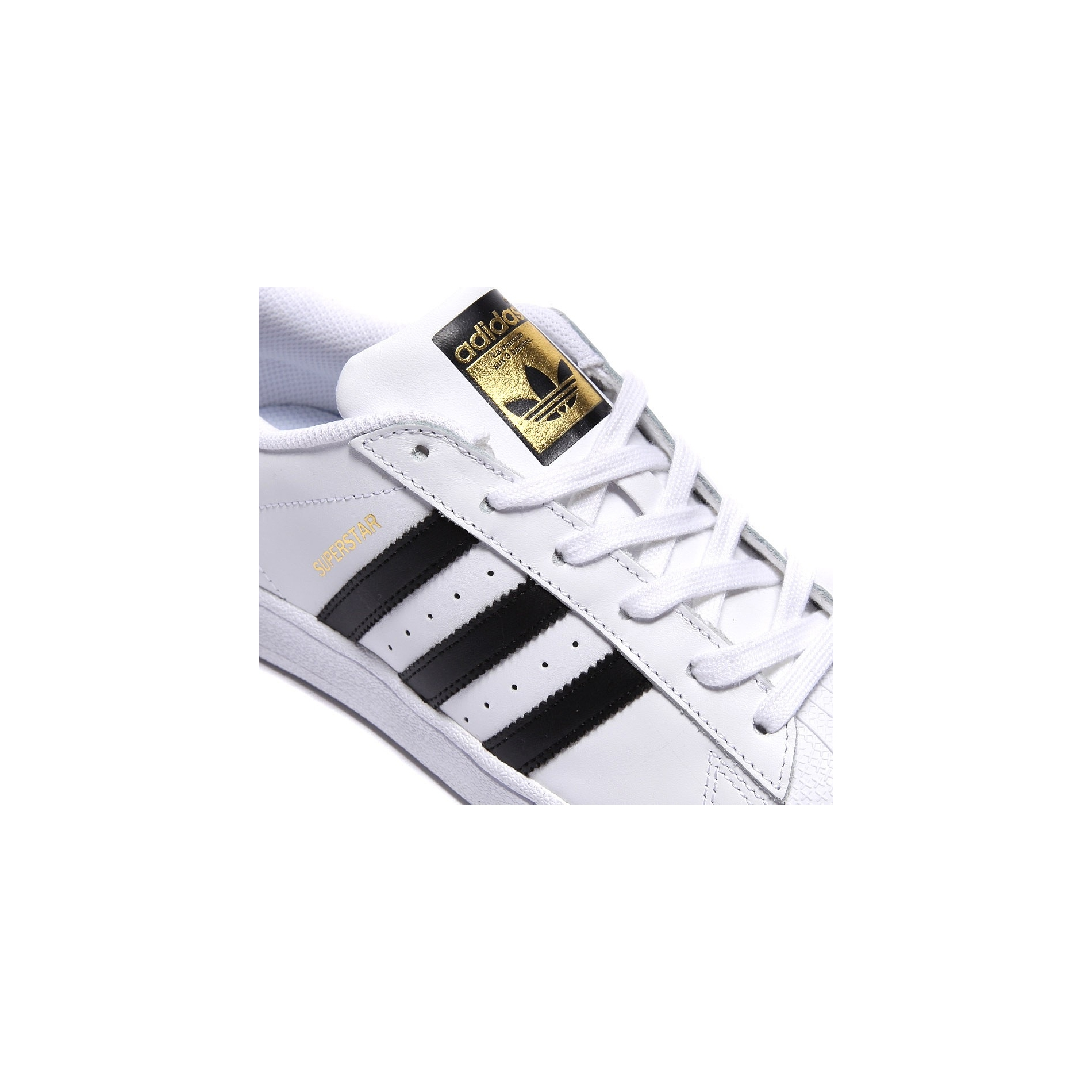 ... Adidas Originals Superstar Blanc/Noir/Or ...