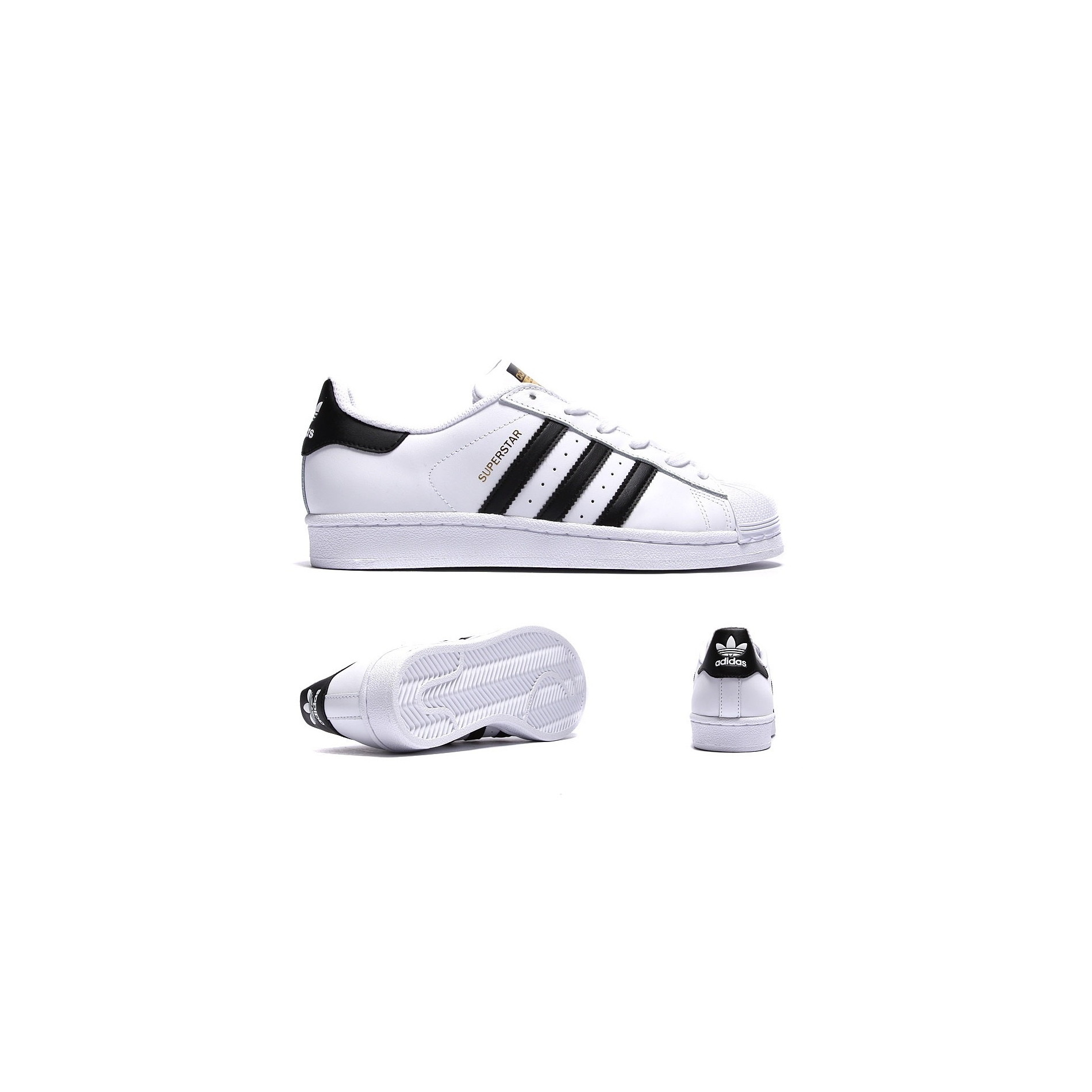 Adidas Originals Superstar BlancNoirOr