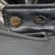 Ventiuno Veste Morato 3/4 Bi-matière noir fourrure fourrure veritable / cuir