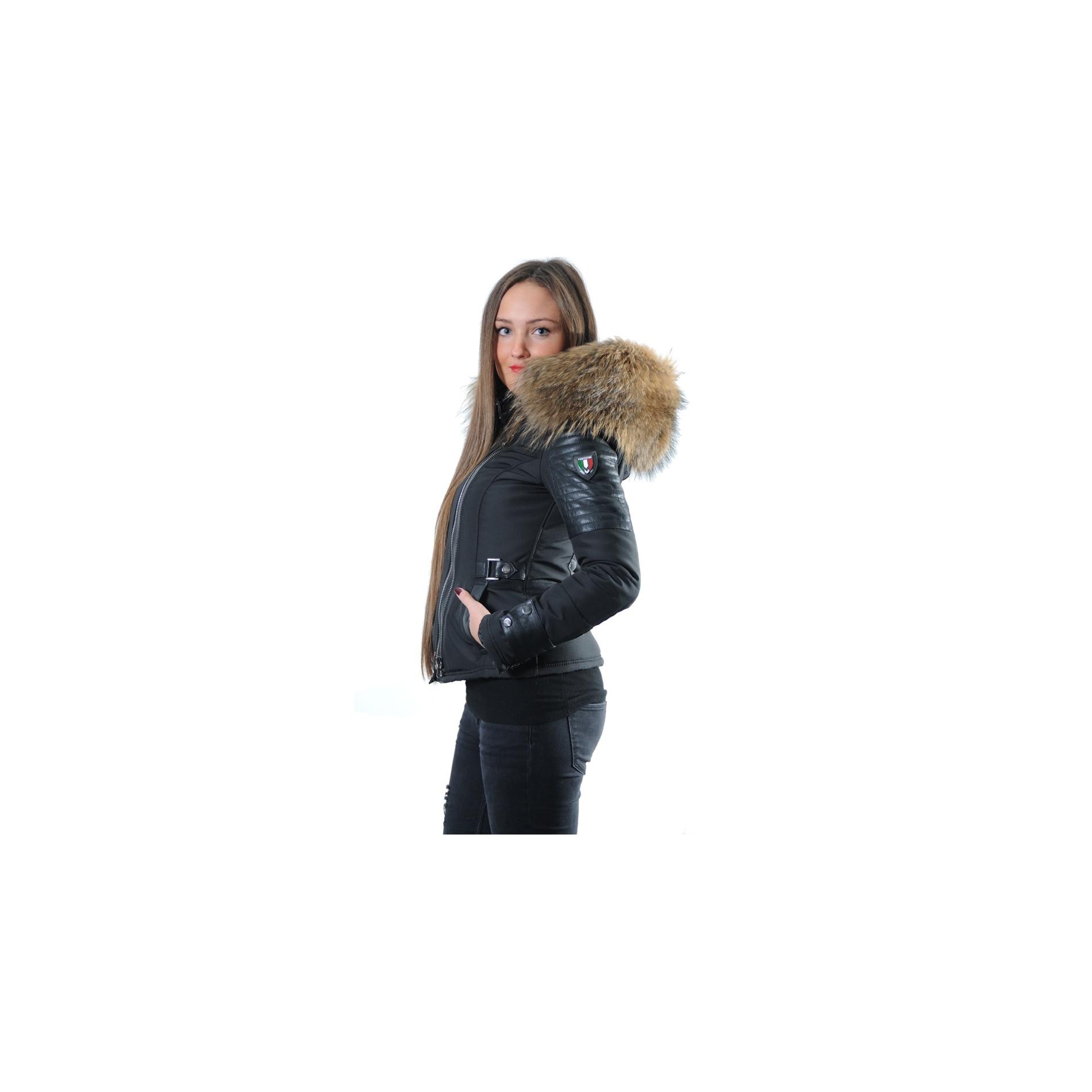 Ventiuno Femme Fourrure Blouson Emily doudoune wATCCq5