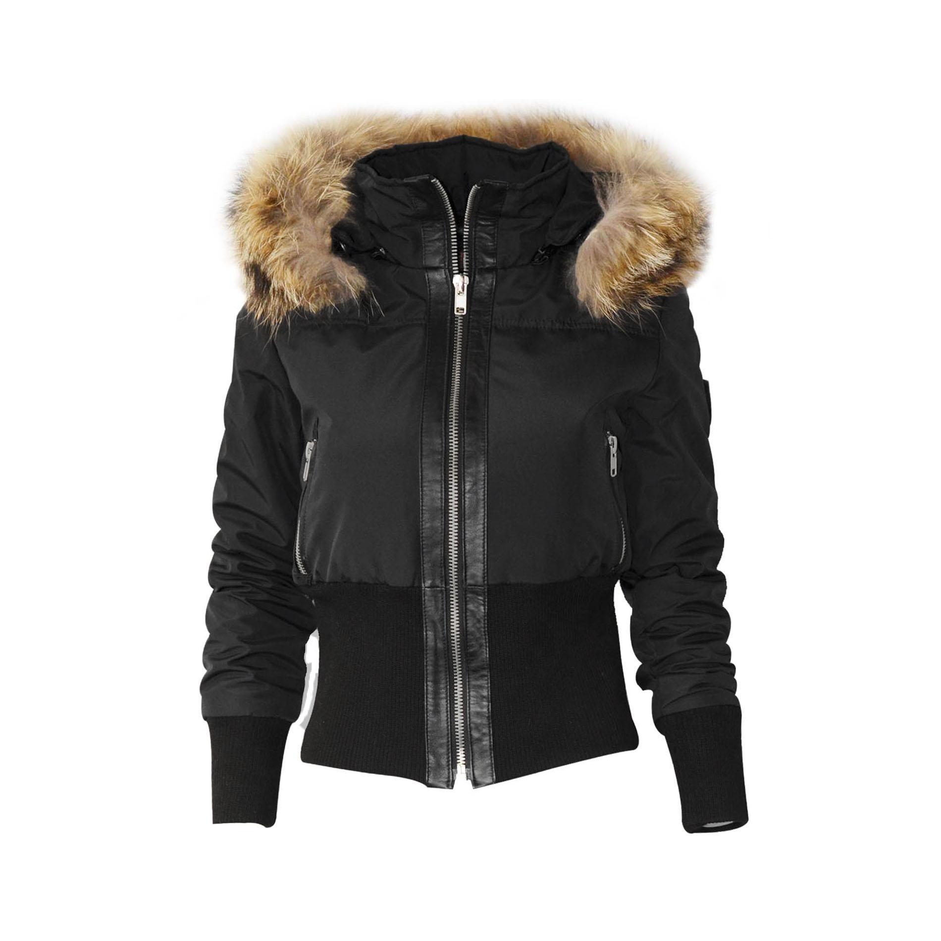 altrov veste tina doudoune hiver femme fourrure v ritable. Black Bedroom Furniture Sets. Home Design Ideas
