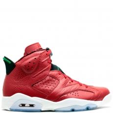 Nike Air Jordan 6 Retro VI 694091-625 MVP HISTORY OF JORDAN SPIZIKE GREEN