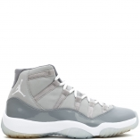 Nike Air Jordan 11 Retro XI COOL GREY 378037-001 medium grey/white-cool grey