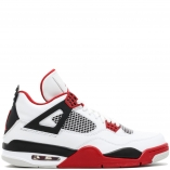 Nike Air Jordan 4 Retro IV 308497-110 Fire Red white/varsity red-black