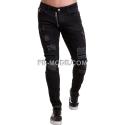 GRUNDGE Ventiuno Jeans noir