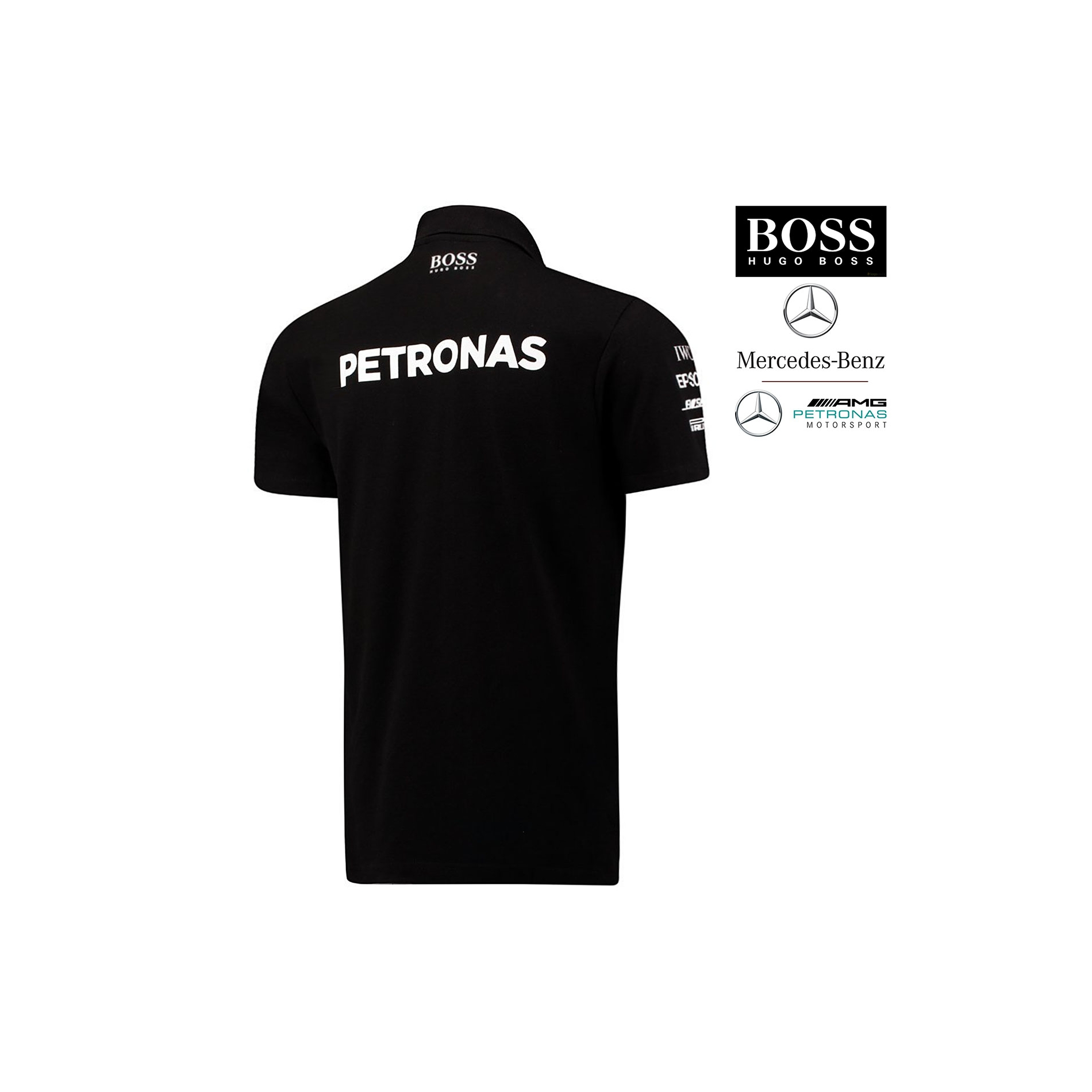 9f7631eec7c Mercedes AMG ® F1 Polo Sponsor HUGO BOSS - 141171042-100 - EDITION ...