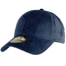 Casquette Baseball NY New York bleu marine navy style Daim - Suede snapback
