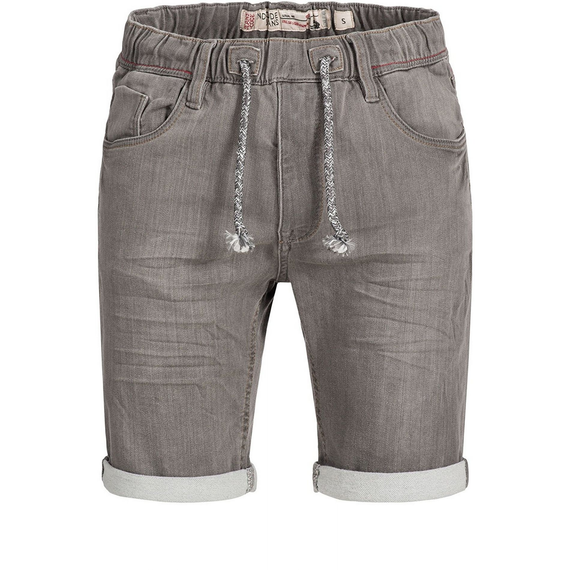 cd55f314dd Kadin Indicode Short En Jeans Gris Fumé Stretch -Kadin Indicode ...