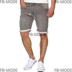 KADIN Indicode short en jeans gris fumé stretch