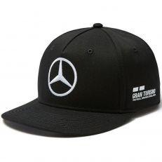 Mercedes AMG ® F1 Team Puma Casquette Noir Flat brim visière plate - Lewis Hamilton - Officiel - 141181053 - Distributeur approu