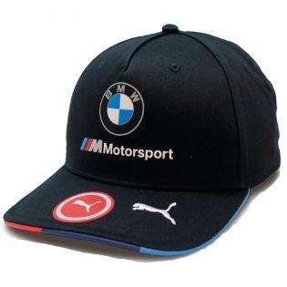 BMW Motorsport ® Puma Casquette flat brim - visière plate bleu -150381007150 - Licence BMW - Distributeur Approuvé
